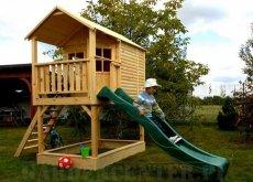 domki z drewna dla dzieci